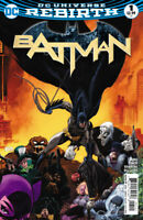 Batman (2016) #1 DC Universe Rebirth Variant VF/NM - combined shipping discount
