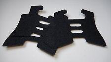 Rubber Decal Frame Grip Tape Glock Gen4 : G17, G22,  G24, G34, G35 - (3 Pack)