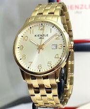 KIENZLE Herrenuhr  Metall Armband  5BarW.R
