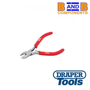 Draper Redline 110mm Mini Diagonal Side Cutter PVC Dipped Handles A1593