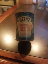 Vintage 1930-40s Heinz Baby Food Tin - Stained Beets
