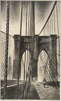 Brooklyn Bridge : Louis Lozowick : 1930 : Archival Quality Art Print
