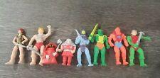 "Vintage He-Man MOTO Soft Pencil Eraser's Ave 3.5 "" Action Figures"
