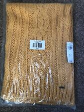 Hollister scarf. Brand New In Packaging. Mustard Yellow