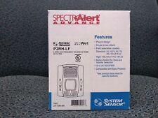 Low Frequency Fire Alarm Hornstrobe 1224 Volt Red System Sensor P2rh Lf
