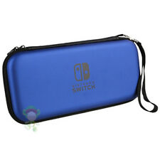 NINTENDO SWITCH HARD CASE TASCHE EVA BAG REISE BOX SCHUTZ HÜLLE ETUI COVER BLAU