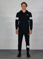 Puma Mens Hooded Sweat Suit FL Cotton Black M