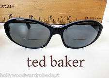 TED BAKER black plastic glasses frame perscription white B1S Rx JACY sun 57 16