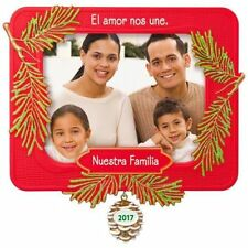 2017 Hallmark Nuestra Familia Ornament  Picture Frame  Photo Holder