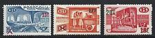1953 Belgio/Belgium/Belgique - TR331/333  3 valori  MNH/**
