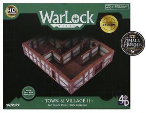 WarLock Tiles WZK16515.Town & Village II Full Height Plaster Exp. FREE POST. NEW