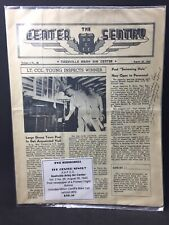 WWII Memorabilia- The Center Sentry Post News- Nashville Army Air Center 1943