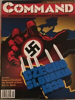 XTR Command Magazine And Game #24 Czechoslovakia 1939 Unpunched OOP