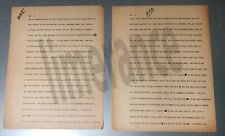 Jean Shepherd Orig. Typed  Story -circa 1961:  Elevators and Insecurity