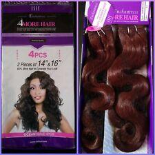 "Enchantress Human Hair blend sew in weave bundles 14""/16""/#33 (extensions/wavy)"