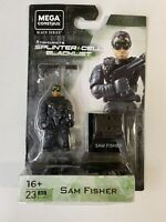Mega Construx Black Series SPLINTER CELL BLACKLIST SAM FISHER 23 PCS GPH84 NEW
