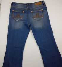 Seven7 Womens Jeans Size 30 Bootcut Embroided Back Pockets  RN109890