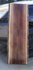"Black Walnut Live Edge Lumber Slab Project Craft Art Bar 43"" Planed Sanded"
