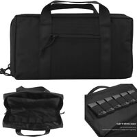 Handgun Pistol Gun Case Hunting Tactical Shooting Range Duffle Bag Magazine Hunt