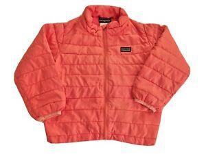 Patagonia Down Puffer Sweater Jacket Coat Toddler Girl Size 3T, Pink