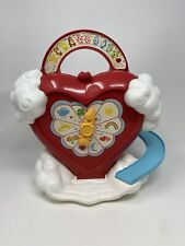 Care Bears Care A Lot Heart House  Case American Greetings Vintage 1983 Kenner