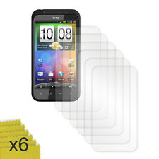 6 PACK LCD SCREEN PROTECTOR FOR HTC INCREDIBLE S