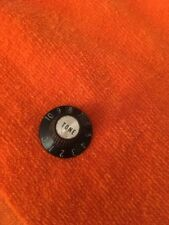 VINTAGE  GIBSON GUITAR WITCH HAT TONE CONTROL KNOB SILVER Circa 1970