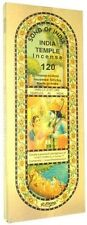 X-LG Song of India Temple Incense, 150 grams  ( appx 120 sticks )