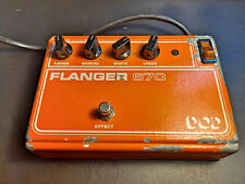 RARE VINTAGE ANALOGUE SD512 BUCKET BRIGADE DOD 670 FLANGER - SOUNDS AMAZING ->>