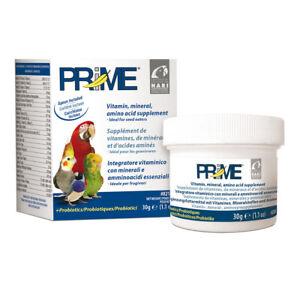 Hari Prime  Vogel Papagei Probiotika Vitamine Mineralien Ergänzungsfutter 30g