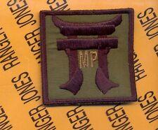 MP Co 187th Infantry 3 Bde 101st Airborne OD HCI Helmet patch B