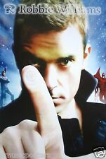 "ROBBIE WILLIAMS ""INTENSIVE CARE"" ASIAN MUSIC POSTER -Finger To Camera, Take That"