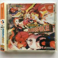 GUNSPIKE  DREAM CAST SEGA CAPCOM w/ spine obi Japan Game TESTED