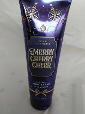 2019 Edition Merry Cherry Cheer Ultra Shea Body Cream 8 Oz. New