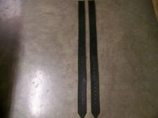 One Pair Replacement Saddle Repair Stirrup Leathers 2-1/2 In. Wide Punched Holes