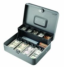 Money Tray Cash Register Drawer Till Locking Box Office Business Home Security