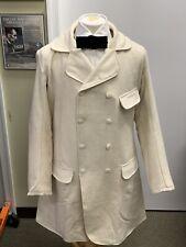 "Civil War 19th century - Off-White wool Paletot Frock Coat Sz 42""-43"" chest New"