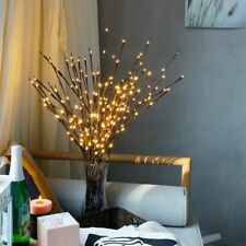 Light Floral LED Branch Lamp Battery Operated 20 Bulbs Home Christmas Decoration