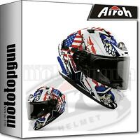 AIROH VAUS38 INTEGRALHELME MOTORRAD MATT VALOR UNCLE SAM XXL