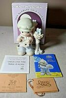 Precious Moments Only Love Can Make a Home 1992 Members Only Figure w/Box PM921