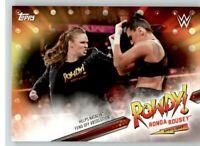 2019 WWE Road to Wrestlemania Spotlight #9 Ronda Rousey