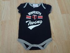Infant/Baby Minnesota Twins 3/6 Mo Creeper One-Piece Outfit (Navy)