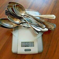 Altes Silberbesteck 800    Gewicht 561 Gramm