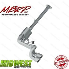 """MBRP 3"""" Aluminum Cat Back PreAxle Dual Outlet Exhaust For 2009-14 Ford F150"""