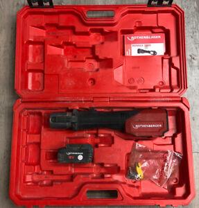 Rothenberger Romax 3000 Akku Pressmaschine DEFEKT im Koffer mit Akku