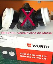 Würth Filter für HM/VM 175 NEU / original verpackt ( 2 Stück) A2P3