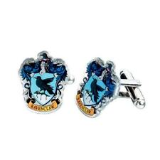 Official Genuine Harry Potter Silver Plated Ravenclaw Cufflinks, Boxed