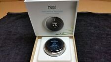 Nest Learning Thermostat 3rd Generation Stainless Steel T3007ES 1873