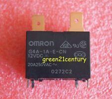 2pcs Original 12VDC G4A-1A-E-CN-12VDC 20A Omron Relay 4pins