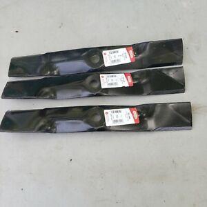 "3PK Oregon 90-348 Durable Blades for 48"" John Deere M127500, M127673, M145476"